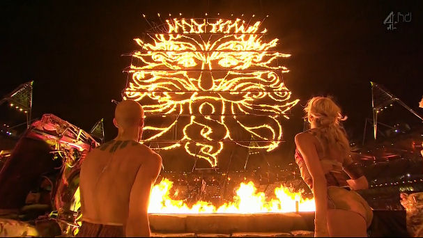 "The Druid god, ""the green man"", worshiped at the 2012 Paralympics closing ceremony. Just because it is esoteric, doesn't mean its for a sinister agenda; those who organized the Paralympic closing ceremony were genuinely interested in incorporating elements of the Druids religion."