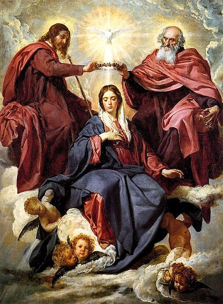 The Coronation of the Virgin by Diego Velázquez